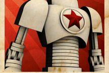 Cyborgs, Bots &roids / Cyborgs, Robots, Androids : Concept Art & Design