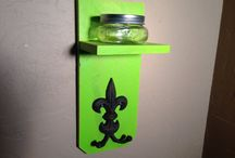 wooden wedding items @ center creek creations / by bolo ties