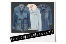 HOW TO FIND THE PERFECT JEAN JACKET FOR YOUR BODY SHAPE / jean jackets come in all different shapes & sizes, so it's a matter of matching your body shape to the style of jacket. Curvy, petite, tall, plus size & apple all have a time trying to find a great style. Click to find out what you should be wearing.