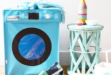 For the laundry / Laundry products including laundry baskets and hampers with lots of style & personality.