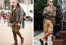 Estilo - Gentleman / Inspirações para homens com 40, 50, 60, 70 anos ou mais!