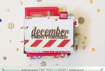 December Daily - Diario de Navidad