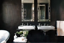 Home: Dark Bathroom