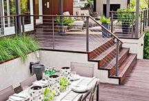 Deck hand rail