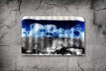 Swirling & Geometric soap / Handmade melt & pour soaps