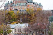 Québec / Paysages, lieux, bateaux, voiliers
