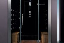 Ariel Steam Showers / Steam showers are an excellent method for enjoying the health benefits and relaxing properties of showering with steam. They come in different sizes, styles and colors for all of your needs.