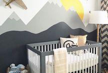 Ideias para o quarto do bebê.