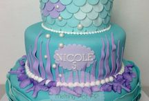 ariel cake / by Karley Steed