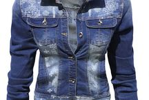 Kurtka Damska Katana Jeans Wzory Azteckie #148 FASHIONAVENUE.PL