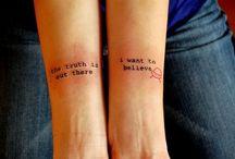 tattoos / by Lara Samudio