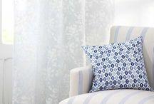 Telas Romo Colección Tulipa / Telas  y Visillos muy alegres. Sirven para tapiceria, lavado en seco, ancho tela 1.38 y visillos 2.94. La puedes encontrar en Deymer Decoracion 954831653 o 696912622
