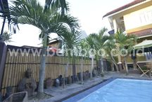 Bamboo Installation / Bamboo Installation, Bamboo Fence, Bamboo Fencing, Bamboo Fences