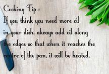 Cooking Tip