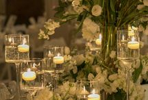 wedding reception and flower decor