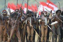 Dani tribe - Inside a mass fertility festival among Indonesian tribes Lani and Yali people