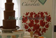 Fuentes de Chocolate / Presentaciones