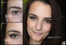 Maquillage paupières tombantes