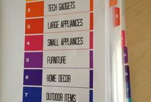 Organizing / organizing ideas for home and office. / by Lori Ilse