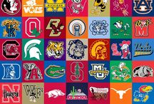 College Football, Mascots & Logos / by Jan Abramczyk Nowacki