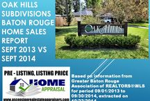 Oak Hills Subdivisions Baton Rouge 70810 / Oak Hills Subdivisions Baton Rouge 70810 in Baton Rouge Real Estate Board by Bill Cobb Baton Rouge's Home  Appraiser 225-293-1500 homeappraisalsbatonrouge.com