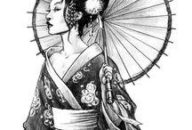 Geisha-Tattoos