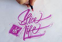 C / calligraphy