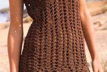CDM ARTE EM CROCHÊ E FELTRO / Sobre moda em croche feito a mao