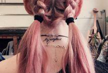 Boyalı saç