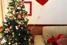 Decoração de natal / Ideias criativas de faça você mesmo para decorar a casa para o natal.