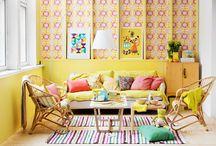 Yellow / Yellow decor ideas.