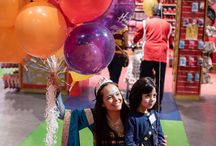 Hamleys Dream Day / he atmosphere was electric with more than 400 people at the party including 148 very excited children who were given the complete run of all seven floors of the largest toy shop in the world.