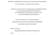 IDEAS DE APOYO SOCIAL / EDUCACION