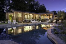 9800 Franz Valley School Road, Calistoga For more information contact Randy Waller @ 707.843.1382 / Stunning single-level estate on 55 private acres. Conveniently located 3 miles to Calistoga, 10 miles to St. Helena, 22 miles to Healdsburg. Completed in 2016, this professionally designed residence features resort style amenities, panoramic views, immaculate grounds, bocci court and 18 plantable acres. Full 1BD /1BA guest unit. White Oak and cement flooring. Custom stone/marble. Hand-made light fixtures. Pull-away glass door systems. Indoor/outdoor patios. A showpiece of high-end design.