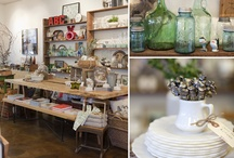 work space + shop / by Liliana Eira