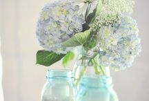 Rustic Weddings / Mason jars, weathered wood, burlap, lace, unique lighting and clean, crisp colors - the makings of a rustic themed wedding.