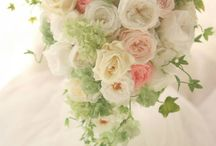 一会 プリザーブト&アーティフィシャルブーケ / Preserved flower, artificial flower フラワーデザイナー 岩橋美佳さんによる作品です。