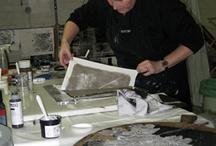 texture - art printing - dye