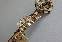 Klíč jako šperk