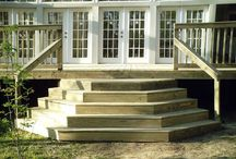 schody na terasu