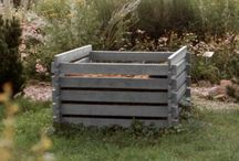 Recycled Plastic Composting Crates / hanit® material is perfect for composting crates. There are several product benefits of using recycled plastic for composting crates, they are strong, durable, weather-proof and decay resistant. Our recycled plastic composting crates will remain in good condition all year round.  http://www.hahnplastics.com/hanit-composting-crates/