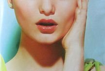 Inspiration from magazines hair & makeup