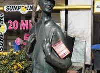 """#gloriareise / Wir schicken das Buch """"Gloria und die Liebenden von Verona"""" von Marlene Klaus auf eine Reise um die Welt. Hier können Sie ihren Weg verfolgen. Sie möchten auch mitmachen? Hier finden Sie alle Informationen zu der Aktion: http://www.bakerstreetbibliothek.de/gloriareise/"""