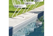 Mobilier Outdoor / meubles en métal pour le jardin