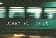 Non smettere mai di sognare