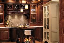 Traditional Spaces / See how cabinetry can help transform a space into a beautiful traditional design!