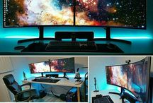 Gaming setups ideas