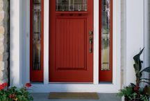 Classic-Craft Canvas Collection / The first premium smooth, paintable fiberglass door to carry the Therma-Tru brand name, Classic-Craft Canvas is designed for homeowners seeking the aesthetics of a sleek, modern entryway that can be adapted to suit multiple styles.