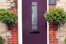 Solidor Turin Timber Composite Doors / Selection of images featuring the Solidor Turin Timber Composite Door installed by ourselves part of the Italia Collection