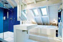 Salle de bains dans le Grenier